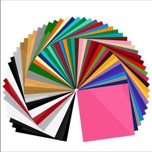 🎀55 Sheets Cricut Vinyl Brand New🎀